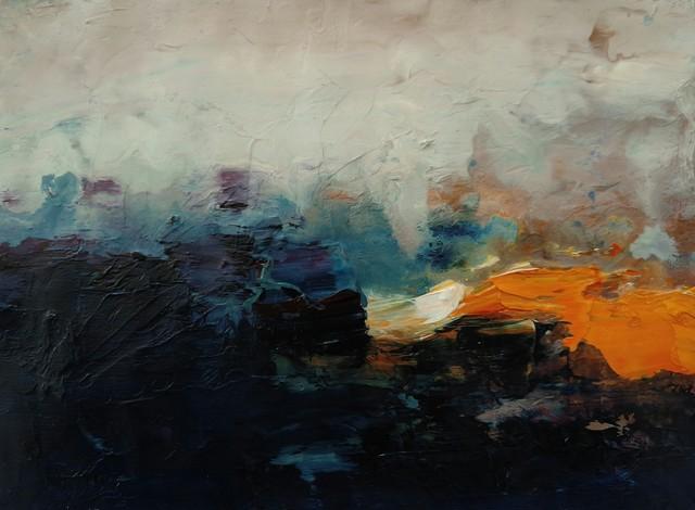 José Luis Bustamante, 'Landscapes on Paper XI', 2018, Bustamante NYC Art Gallery