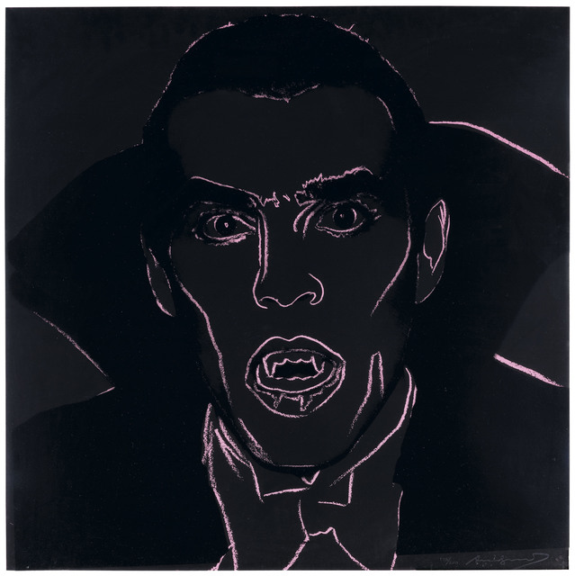 Andy Warhol, 'Dracula, from Myths', 1981, Christie's
