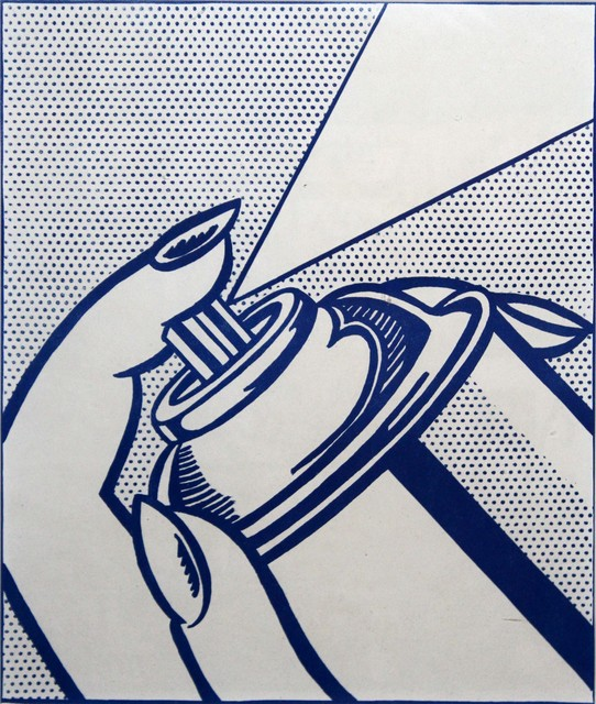 Roy Lichtenstein, 'Spray Can (1 cent life)', 1964, DANE FINE ART