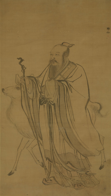 , 'Immortal with Deer,' Undated, Art Museum of the Chinese University of Hong Kong