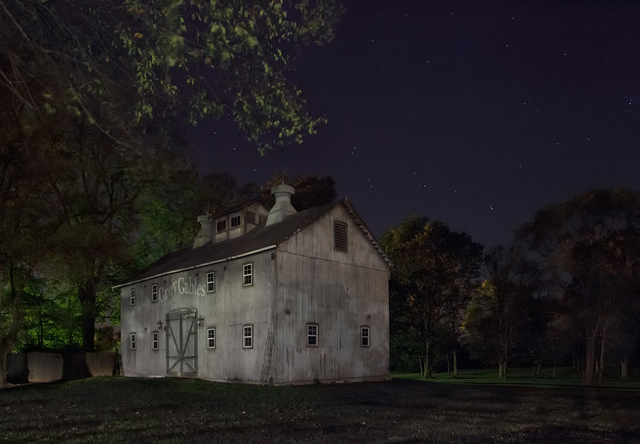 , 'Look for the Gray Barn Out Back. Joshua Eliason Jr. barnyards and farmhouse, with a tunnel leading under- neath the road to another station, Centerville, Indiana,' 2013, PDNB Gallery