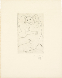 Henri Matisse, 'Nu assis- les yeux noirs (Seated Nude - with Black Eyes),' 1926, Phillips: Evening and Day Editions