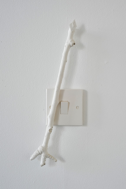 , 'PIN-BADGE STICK SWITCH,' 2012, Kendall Koppe