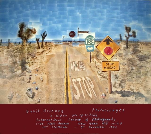 David Hockney, 'Pearblossom Highway', 1986, ArtWise