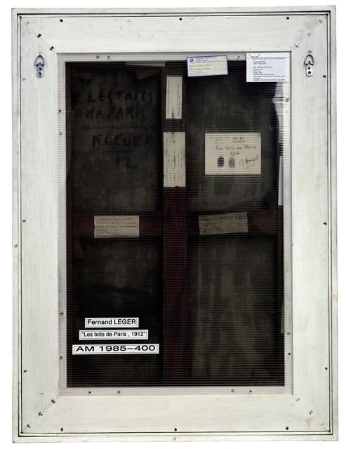 Philippe Gronon, 'Verso n°16, Les toits de Paris, par Fernand Léger, collection Centre Pompidou, Paris', 2007, Modernism Inc.