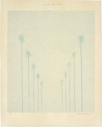 Ten Palm Trees in the Mist
