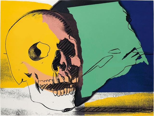 Andy Warhol, 'Skull (FS II.158)', 1976, Revolver Gallery