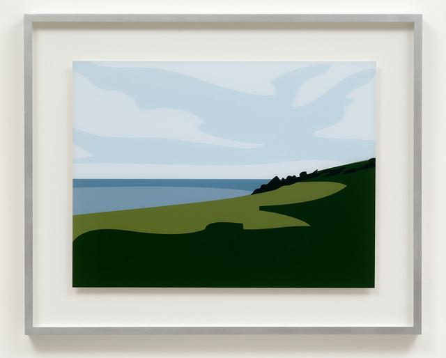 Julian Opie, 'Lantivet Coast', 2017, Cristea Roberts Gallery