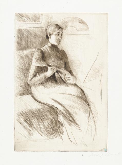 Mary Cassatt, 'The Mandolin Player', 1889, Galerie d'Orsay