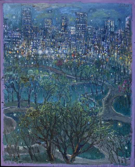 , 'Boston Public Gardens, Night by the Lake,' 2017, Galerie d'Orsay