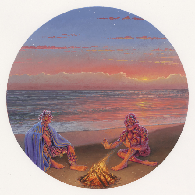 , 'First Night: A Conversation by Firelight,' 2019, Beinart Gallery