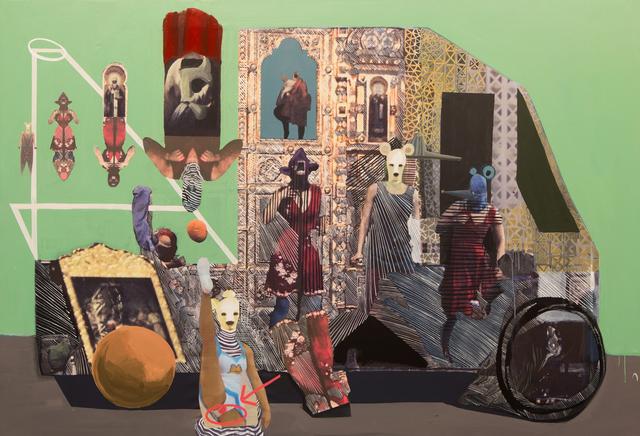 , 'Madame Tussauds VI,' 2015, Gallery Isabelle van den Eynde