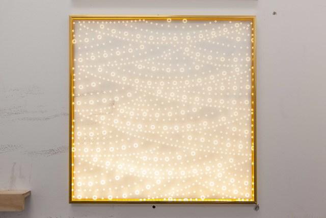 , 'E-flux Throbber III,' 2017, SGR Galería