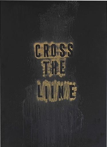 Mark Flood, 'Cross the Liine', Christie's