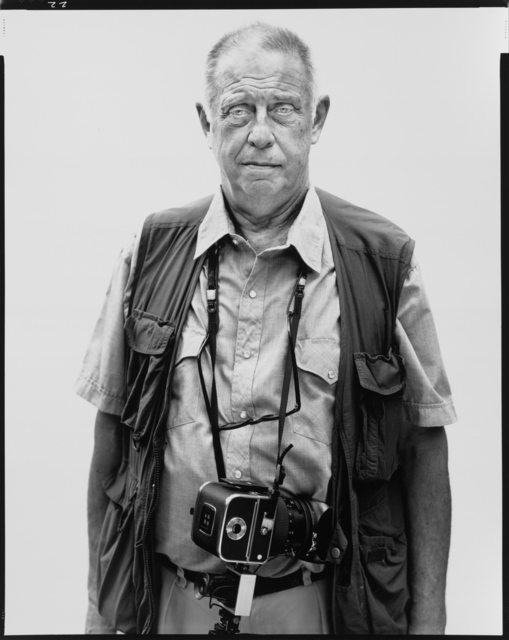 , 'Lee Friedlander, photographer, New City, New York, May 24, 2002,' 2002 / printed 2003, Fraenkel Gallery