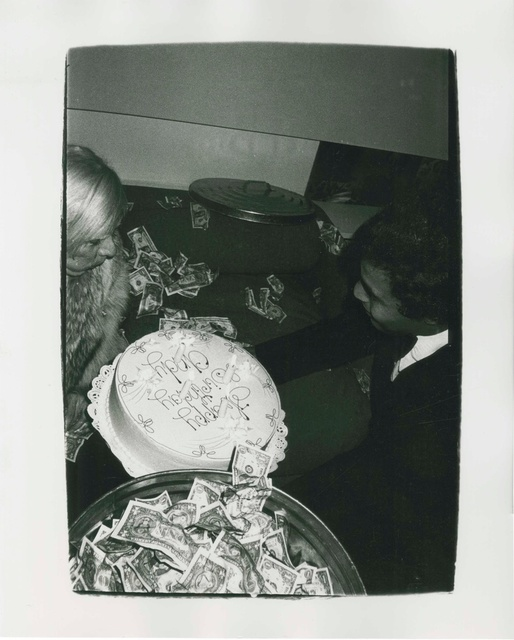 Andy Warhol, 'Self-Portrait with Birthday Cake', 1976, Artificial Gallery