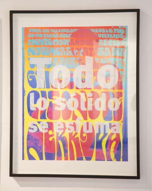 , '¡1968, el culo te abrocho! / Your Ass I Wait,' 2008, EL GRAN VIDRIO