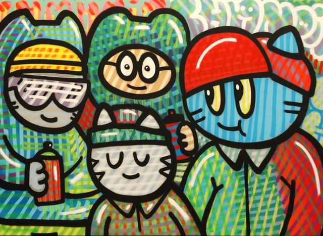 , 'Cha Rayosdeluz,' 2014, Galerie Art Jingle