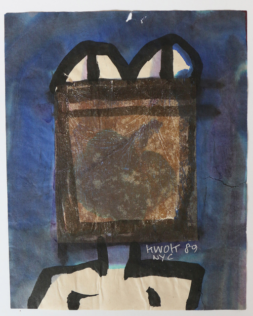 , 'Violet in Frog,' 1989, 10 Chancery Lane Gallery