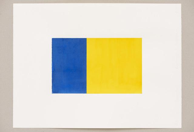, 'Phi (Blue, Yellow),' 2016, Slewe Gallery