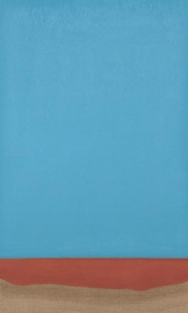 , 'Untitled (Blue/Copper),' 2017, Tayloe Piggott Gallery