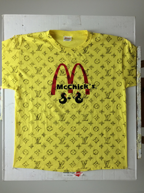 , 'LV DIY (Yellow McChick's T-shirt),' 2016, 101/EXHIBIT