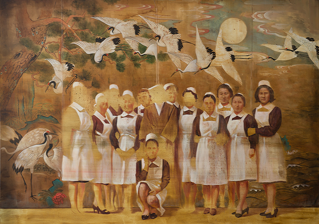 , 'Nurses and cranes ,' 2017, CHOI&LAGER