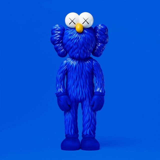 KAWS, 'KAWS BFF Blue MoMA Exclusive', 2017, Dope! Gallery