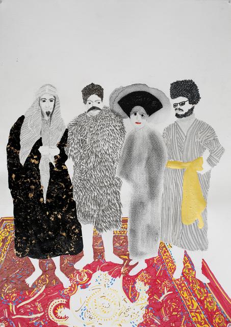 , 'Balmaske 2,' 2014, Shulamit Nazarian