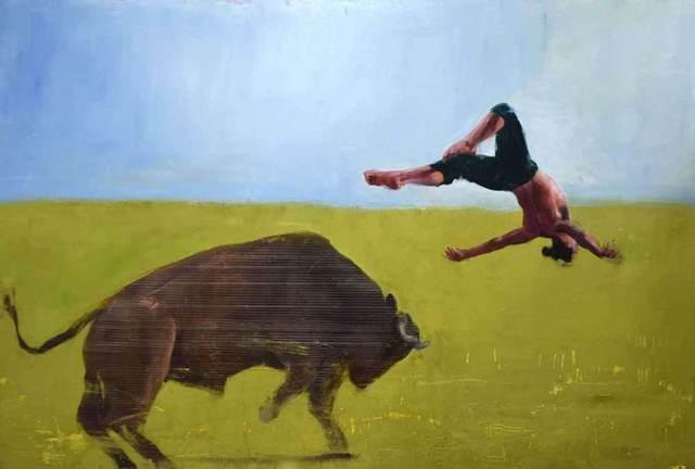 , 'Bull Leaper,' 2018, Catto Gallery