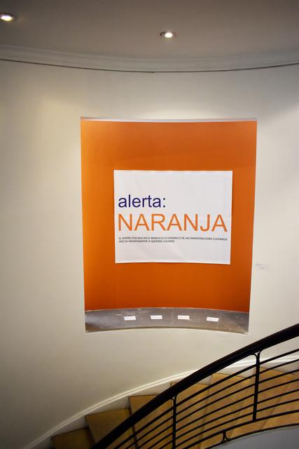 Antonio Caro, 'Alerta Naranja ', 2019, Casas Riegner