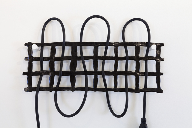 Dana Hemenway, 'Untitled (Grid No. 4 – Black)', 2016, Eleanor Harwood Gallery