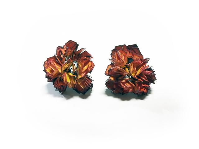 , 'Vanitas (Earrings) Orange,' 2015-2016, Galerie Beyond