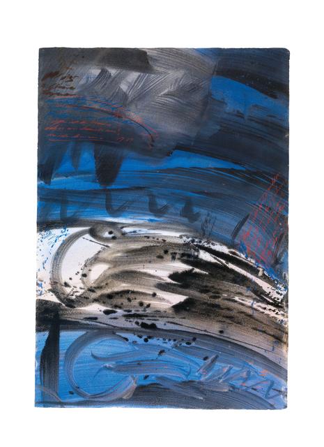, 'Draft for the ceiling painting in the Redoutensaal,' 1995, Galerie Kovacek & Zetter