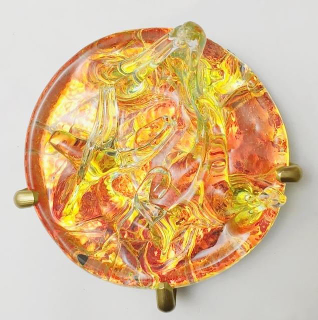 Ayşe Gül Süter, 'Movement of Sea Urchin', 2015, Sculpture, Glass, light, Pg Art Gallery