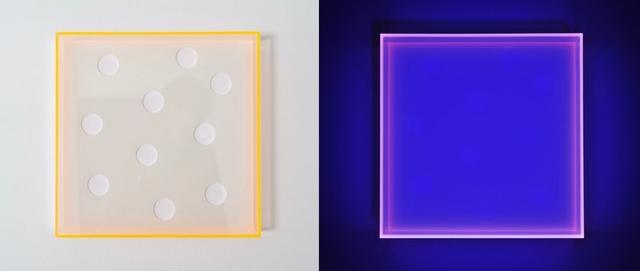 Regine Schumann, 'color glow - white become black', 2017, Edition & Galerie Hoffmann