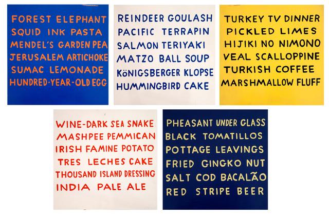 , 'Food,' 2006, Cade Tompkins Projects