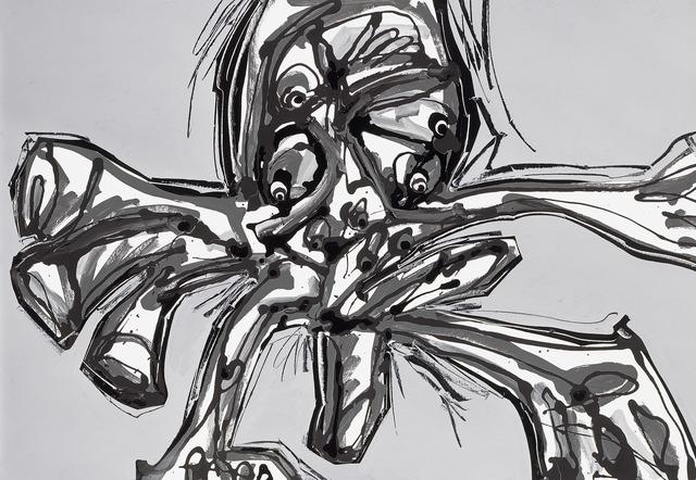 , 'Crucifixión,' 1990, Fernández-Braso