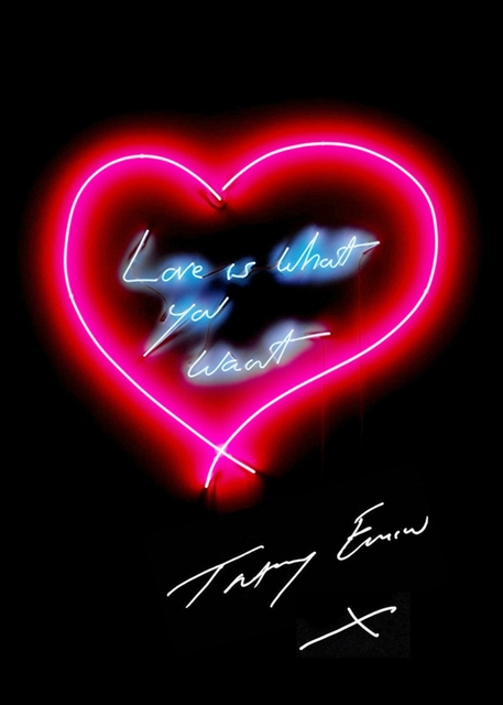 , 'Love is What You Want (new in Emin International tube),' 2015, Alpha 137 Gallery