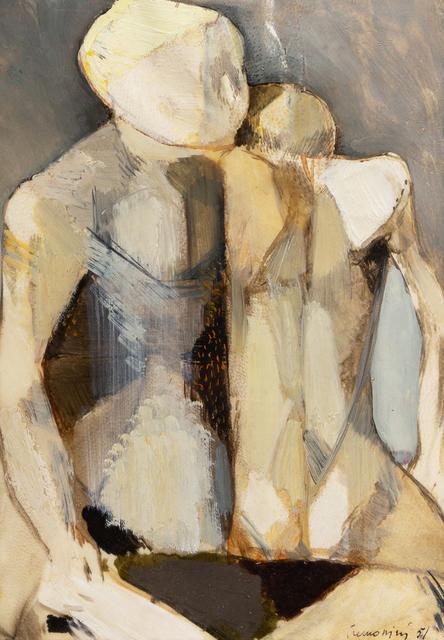 Leonardo Cremonini, 'Figure', 1951, Hindman