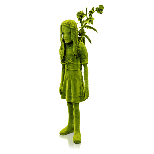 Kim Simonsson, 'Moss Girl with a Branch', 2019, Jason Jacques Gallery