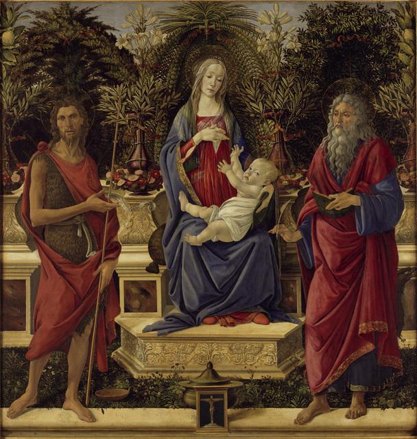 , 'Bardi-Altar,' 1484, Gemäldegalerie Alte Meister