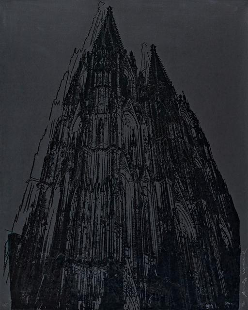 Andy Warhol, 'Cologne Cathedral', 1985, Print, Colour silkscreen with diamond dust on Lenox museum board, Van Ham