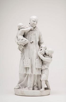 , 'Saint Vincent de Paul with Foundlings ,' First quarter of the nineteenth century, DePaul Art Museum