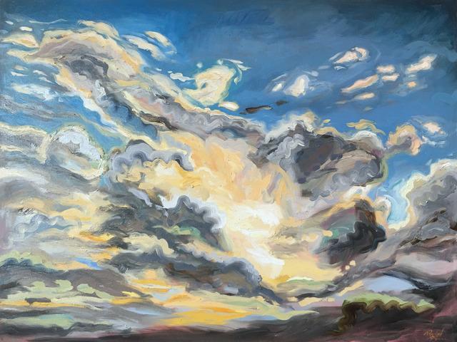 , 'Georgia Sky V,' 2017, Brickworks Gallery