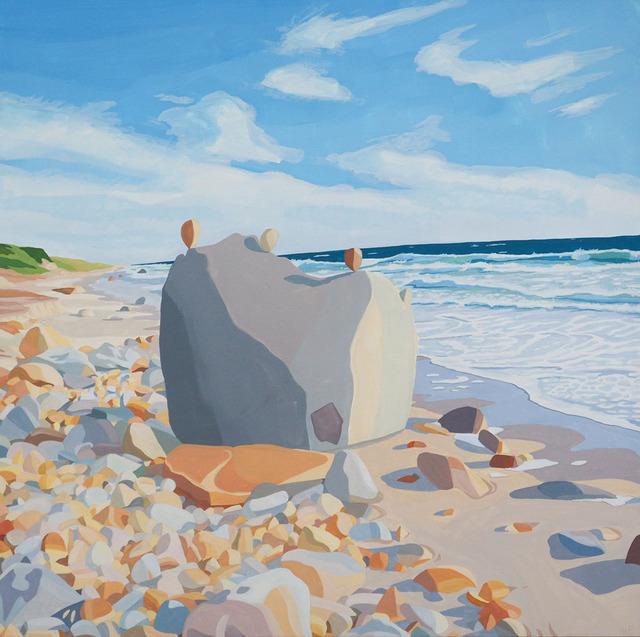 , 'Aquinnah Cairn III,' 2018, Wally Workman Gallery
