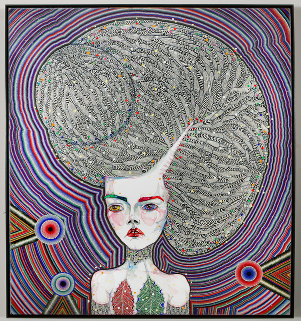 Del Kathryn Barton, 'the human dress', 2013, Roslyn Oxley9 Gallery