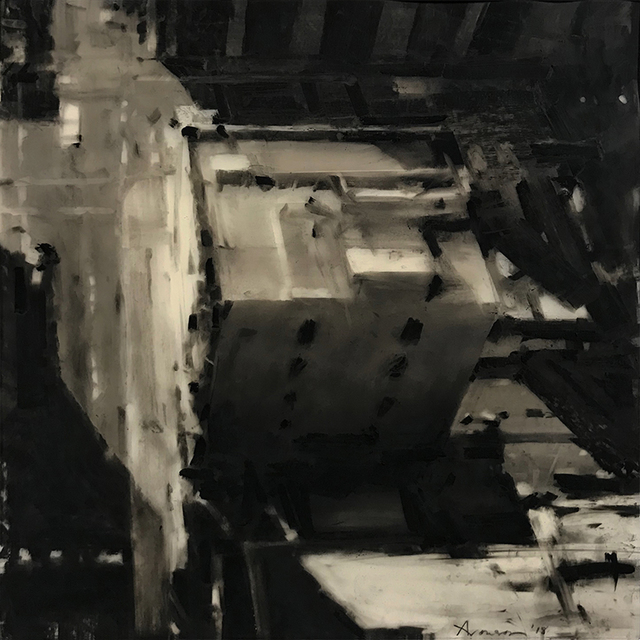 , 'Rooftop, South Boston,' 2018, Alpha Gallery