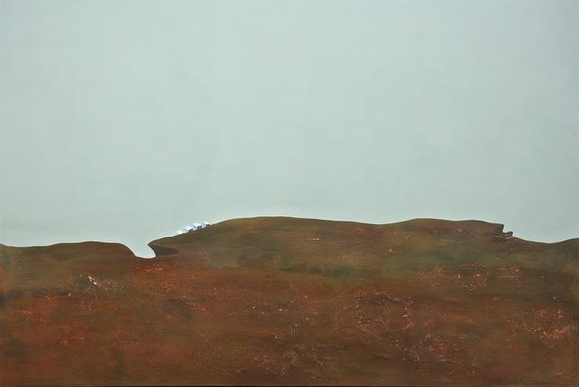 , 'Red land,' 2015, Galleria Michela Rizzo