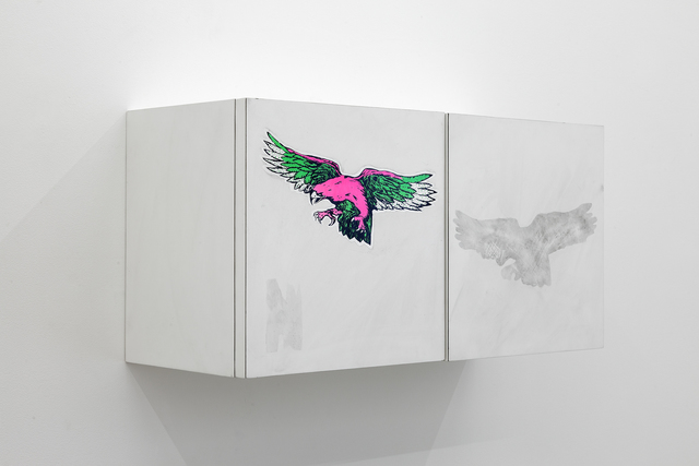 , 'Wall Cabinet #9 (Pink eagle),' 2006, galerie frank elbaz